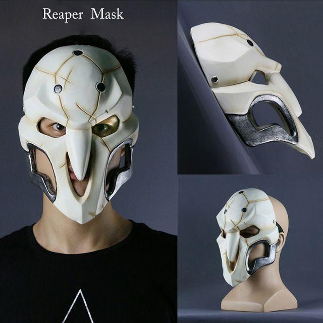 2016 новая Игра Косплей Костюм Reaper Маска патруля Косплей Аксессуары ПВХ Прекрасно маска