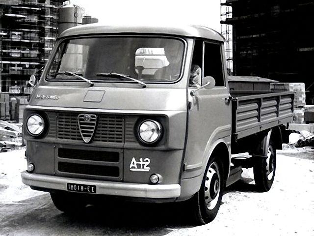 Alfa Romeo A12 Diesel (1973)