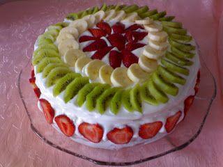 Meyveli pasta tarifimizi pasta tarifleri kategorimizde siz değerli pasta severlerle paylaştık.