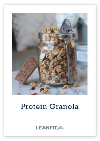 Top this delicious & crunchy high-protein granola to your morning oatmeal, low-fat yogurt, or nibble on by itself for a satisfying snack!
