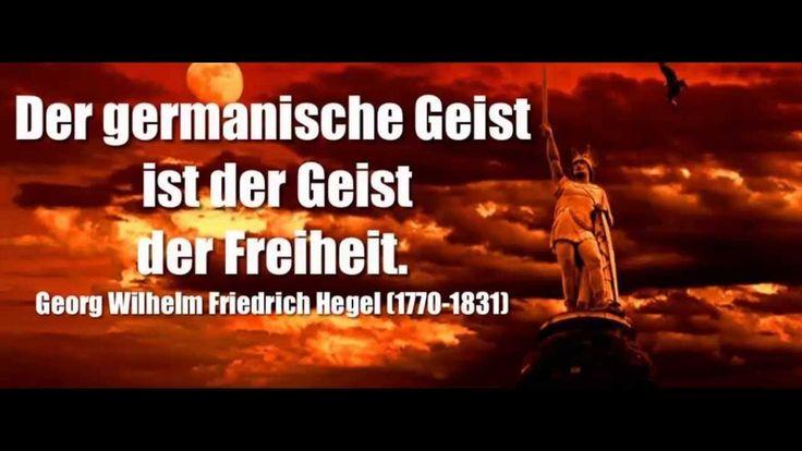 Der germanische Geist ist der Geist der Freiheit. — Georg Wilhelm Friedrich Hegel