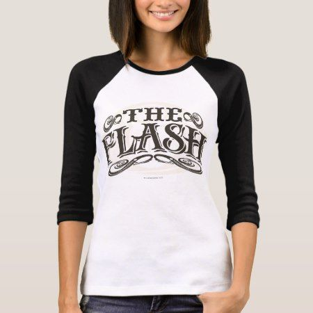 The Flash - It's Showtime! Letters T-Shirt - click to get yours right now!