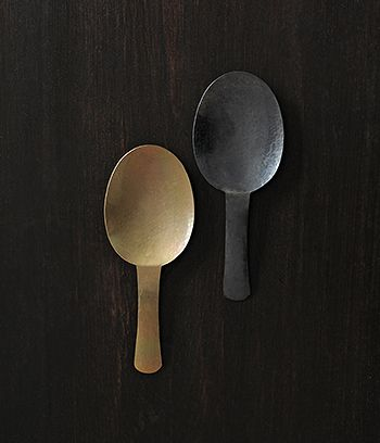 kanehen | Metal Kitchen and Tableware by Shiori Taguchi