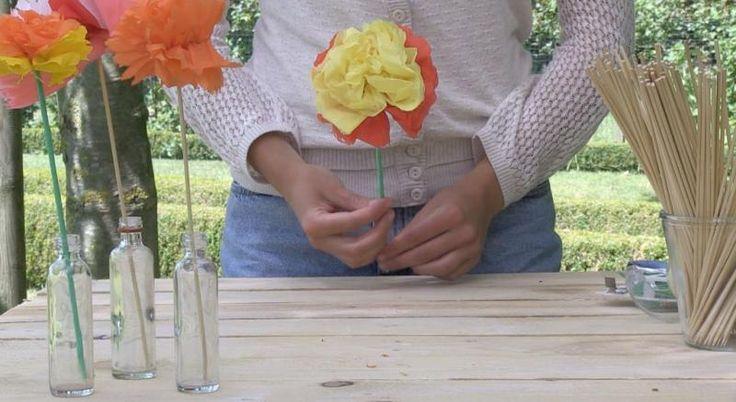 Kriebelt het in de zomer bij jou ook om op het strand bloemen te ruilen tegen schelpjes? Met dit filmpje maak je ze in een handomdraai!