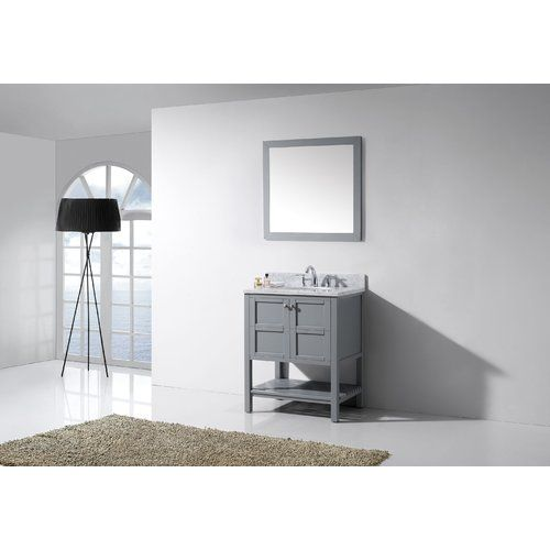 "Found it at AllModern - Winterfell 30"" Single Bathroom Vanity Set with Mirror"