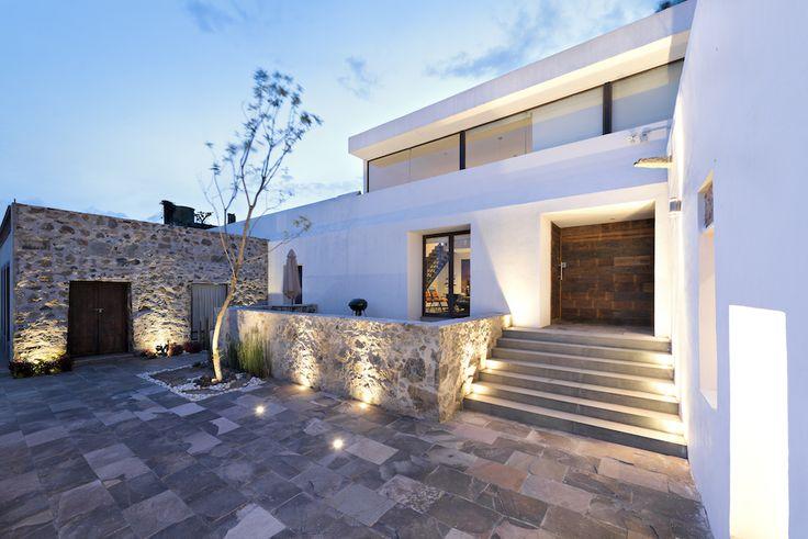 Hacienda San Antonio | Dionne Arquitectos + Posada Arquitectos #lighting #outdoor #architecture