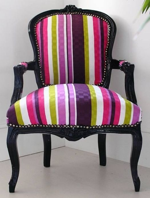 purple chairs for bedroom chair black green pink amp purple stripes chair 16857
