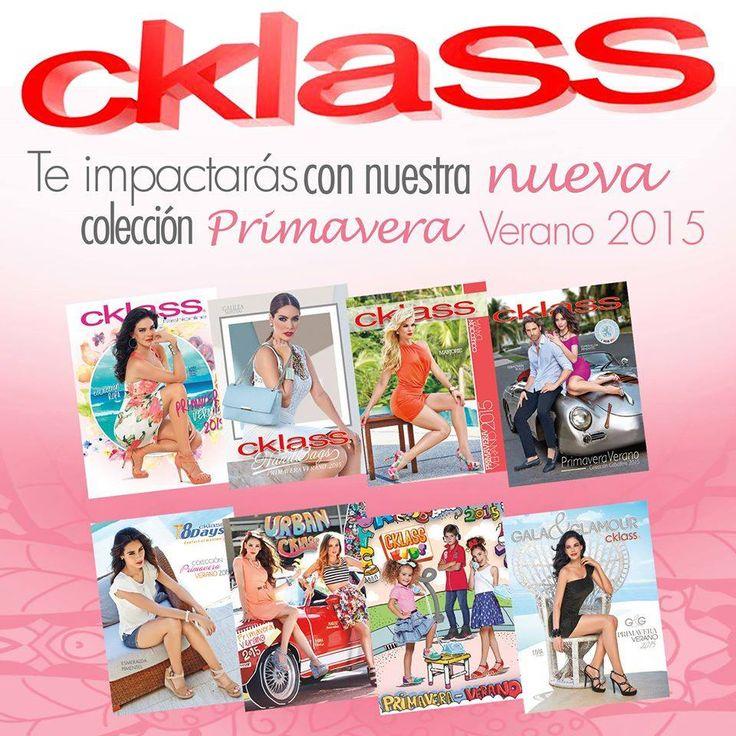 A partir de hoy está disponible en todas nuestras sucursales Cklass la colección #CklassPrimaveraVerano2015  ¡Reinventa tu estilo con Cklass - Los mejores Catálogos de México ! Ya puedes ver los catálogos en línea en www.cklass.com
