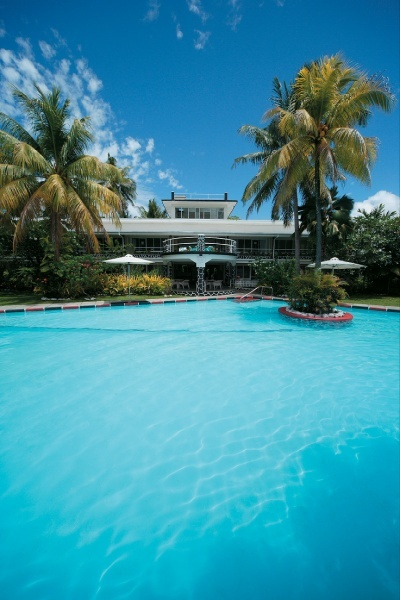 Sit poolside at the Gary Cooper Bar and enjoy a cocktail!  Aggie Grey's, Apia, Samoa