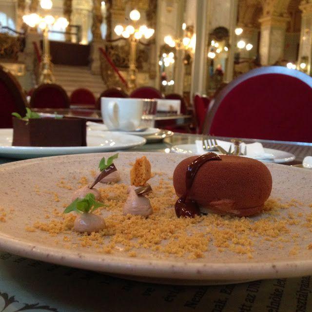 Budapest pastries. Café New York, Hotel Boscolo.