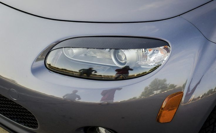 These eyelids fit on the NC1 headlights (2005-2008). Madewith high quality fiberglasss or carbon fiber, they are extremely light and add a subtle touch to the front of your car. We supply high grade 3M double side adhesive with each set. Specifications: – 3K Carbon Fibre 1×1 twill (Made in Japan) – 240g+450g Carbon Fibre/Carbon