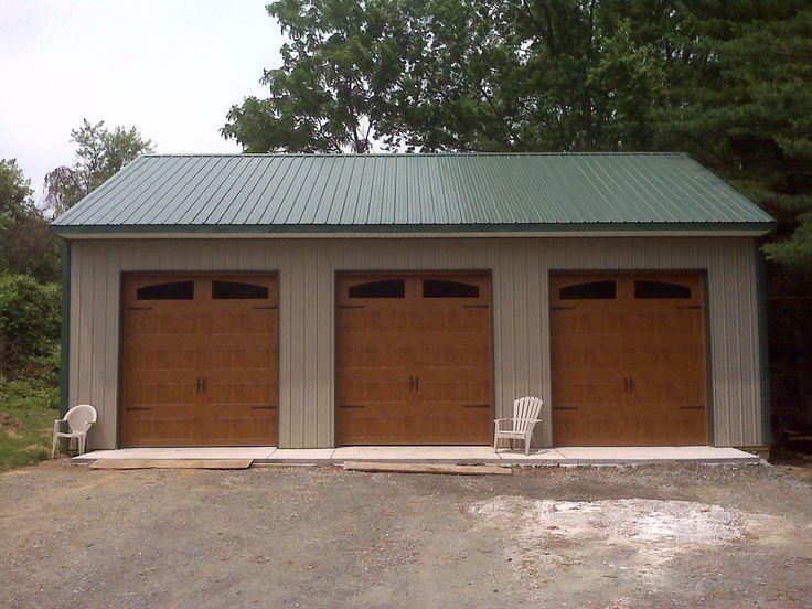 pole building garage plans