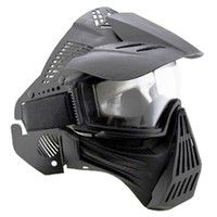 Geek | AIRSOFT FULL FACE MASK PROTECT SAFETY MASK GOGGLES PAINTBALL BB MASK