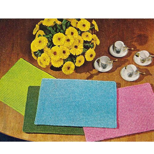 Crochet Placemat Patterns Free Beginners