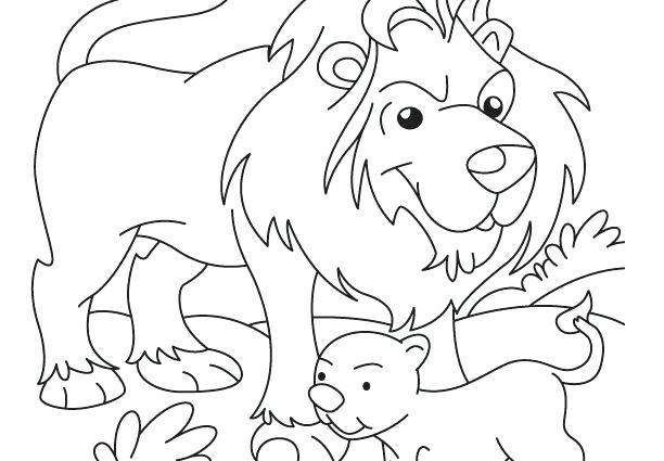 The Best Lion Coloring Pages Ideas For Kids Family Coloring