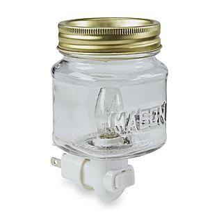 Mason jar plug-in wax warmer
