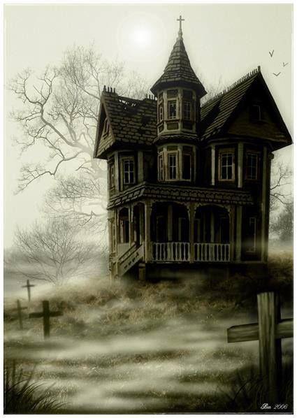 Halloween-Haunted house