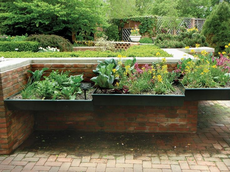 Vegetable Garden Retaining Wall Ideas