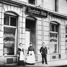 La curiosa historia del primer restaurante vegetariano del mundo