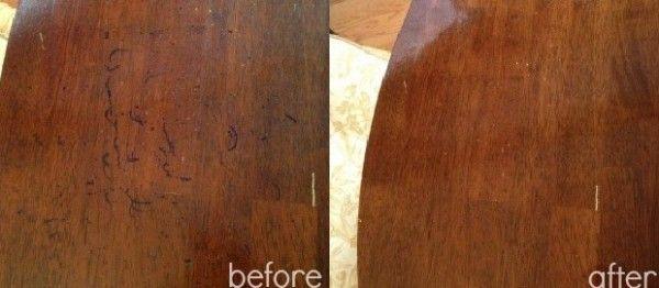 Aprende un truco para eliminar las manchas de los marcadores permanentes de la madera...