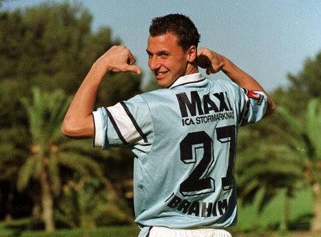 Zlatan Ibrahimovic #MalmöFF #Nike #2000