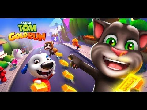 Talking Tom Gold Run Android Ginger  Gameplay HD