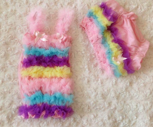 Девочка розовый радуга пузырь бретелька верхний и кружево шорты женские спортивные брюки брюки костюм дети одежда комплект подарки