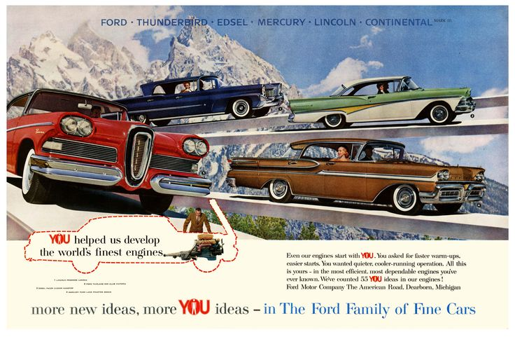 https://flic.kr/p/frEcGu | Ford's All About You | 1958.