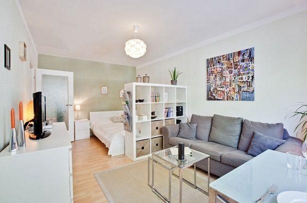 Wohn Und Schlafzimmer In Einem Raum Ideen Wohnung Wohnung