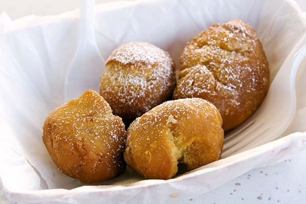 Montana: Fried Butter Balls  Great Falls, July 29-Aug. 6  While the Montana State Fair is famous for its Big Sky ProRodeo Roundup, Paula Deen wannabes and other fried-food enthusiasts head for the deep-fried butter balls.