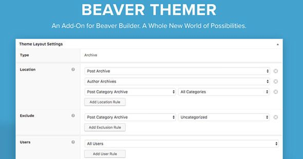 Beaver Themer V1 2 1 1 Premium Plugin Plugins Beaver