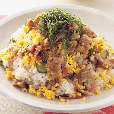あなごのちらしずし   平井淑子さんのごはんの料理レシピ   プロの簡単料理レシピはレタスクラブニュース