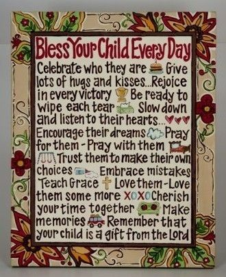 bless your child: The Lord, Words Of Wisdom, Remember This, Gift, Quotes, Children, Canvas, Baby Girls, Kid