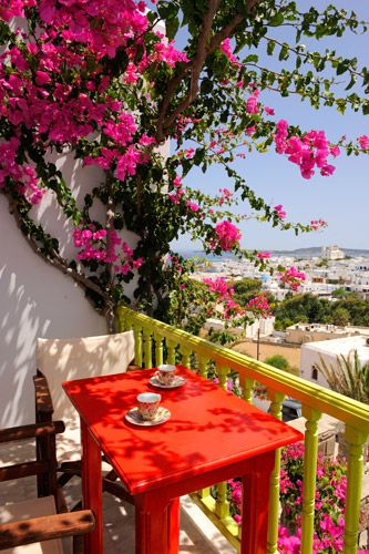 Papadakis Hotel in Paros / Naoussa, Greece /Grekland
