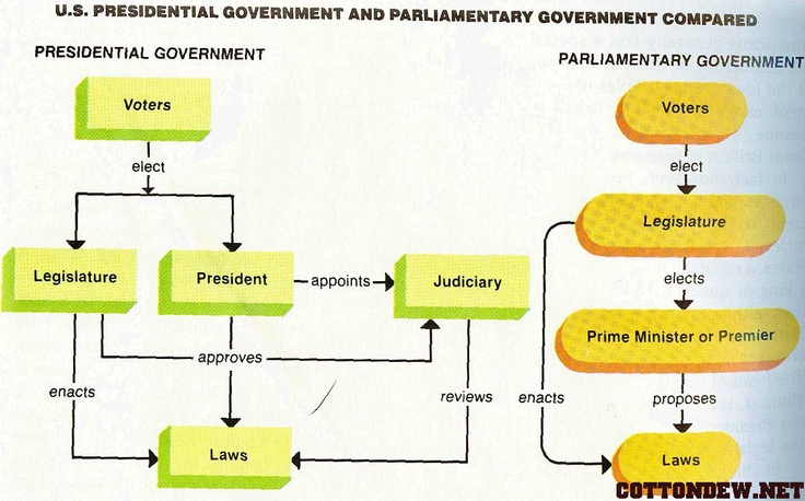 Presidential vs parliamentary system of government essay rubric