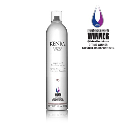 @Kenra Professional  Volume Spray won the 2013 Stylist Choice Award for Favorite Hairspray. $17 at ULTA Beauty.