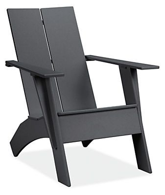 Emmet Tall Lounge Chair & Ottoman - Modern Outdoor Chairs & Chaises - Modern Outdoor Furniture - Room & Board