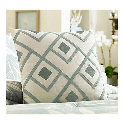 tommy bahama bedding tommy bahama bamboo breeze applique decorative pillow u0026 reviews wayfair