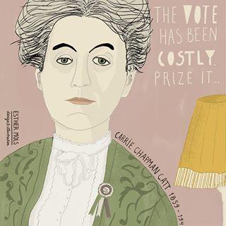 #CarrieChampmanCatt #Suffragette #womenhistorymonth ©EstherMols