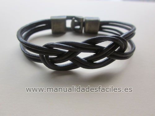 leather bracelet with video