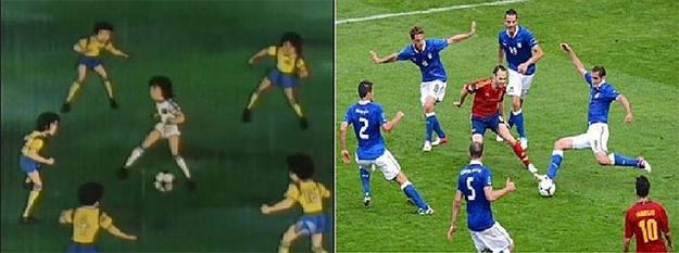¿En qué se parece Iniesta contra Italia a la serie 'Campeones'? - foto