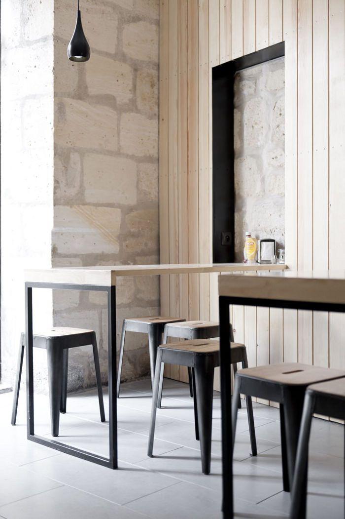 349 best interior design restaurant cafe images on pinterest. Black Bedroom Furniture Sets. Home Design Ideas