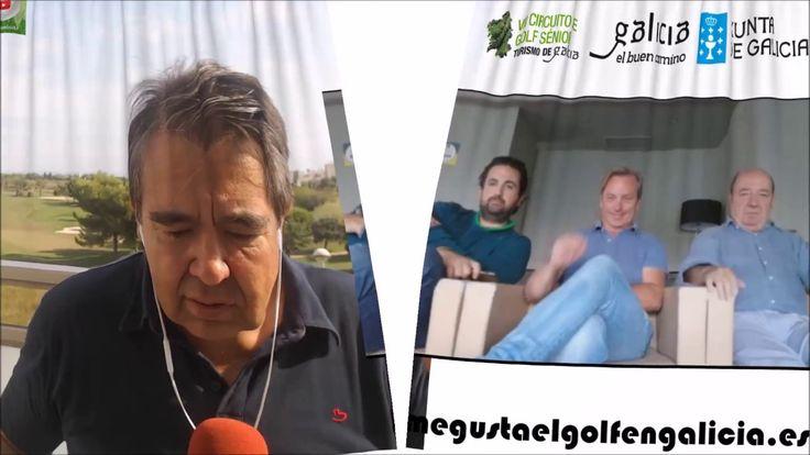 3º PRUEBA 5 DE SEPTIEMBRE 2017 NAVARRA , SEÑORÍO DE ZUASTI, VII TORNEO SENIOR TURISMO DE GALICIA , con ENRIQUE PEREZ ETCHEVERRIA, Responsable Turismo de Golf, Turismo de Galicia. Xunta de Galicia,  JAVIER DE LA CERDA y MANUEL ALEGRE , organizadores del VII Torneo Senior Turismo de Galicia miembroS de la UTE  GALICIA MÁS QUE GOLF y Mariano Puerta.