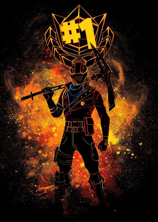Rust Lord Art By Donnie Metal Posters Fortnite In 2019