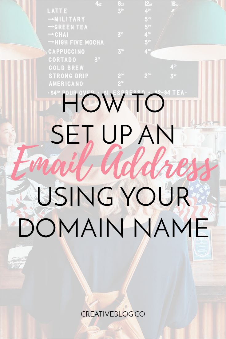 How to Set Up an Email Address Using your Domain Name | Tips for GMAIL | The Creative Blog Co.