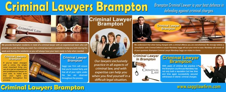 Click this site https://goo.gl/maps/zzDxTCXBV5A2 for more information on Brampton criminal lawyer. Brampton criminal lawyer is someone who specializes in handling criminal cases with implications such as arson, DUI, murder, theft, etc. Their primary role is to review evidence and to map out an effective defense strategy. They represent the accused, advice the client on legal matters, and assist in the framing of legal documents. Follow Us http://company.fm/Saggi-Law-Firm-3068567.html