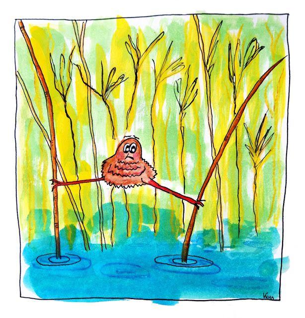 Vogeltje in het riet | Kim Broersma