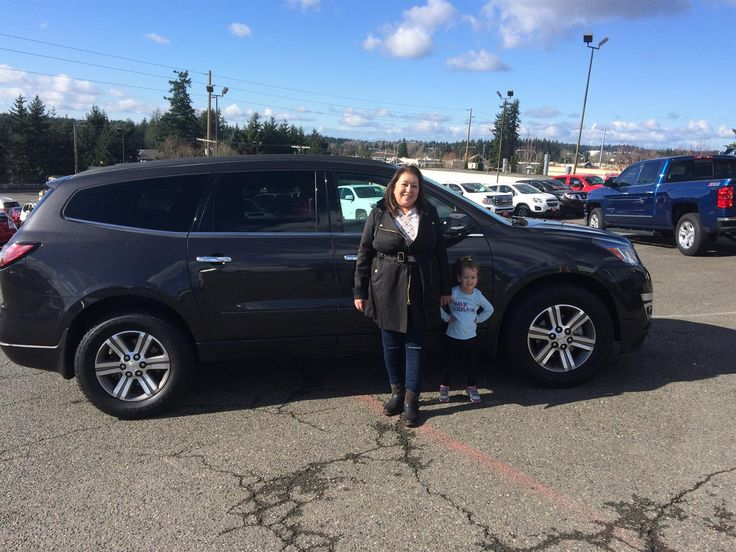 Evangelina, we're so excited for all the places you'll go in your 2016 CHEVY TRUCK TRAVERSE!  Safe travels and best wishes on behalf of Jet Chevrolet and Preston Foster.