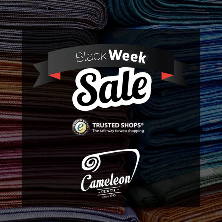Black Week !!! https://cameleontextil.com/sale--c-311/  #cameleontextil #textiles #fabric #industry #b2b #europe #market #fashion #design #autumn #winter #blackfriday #blackweek