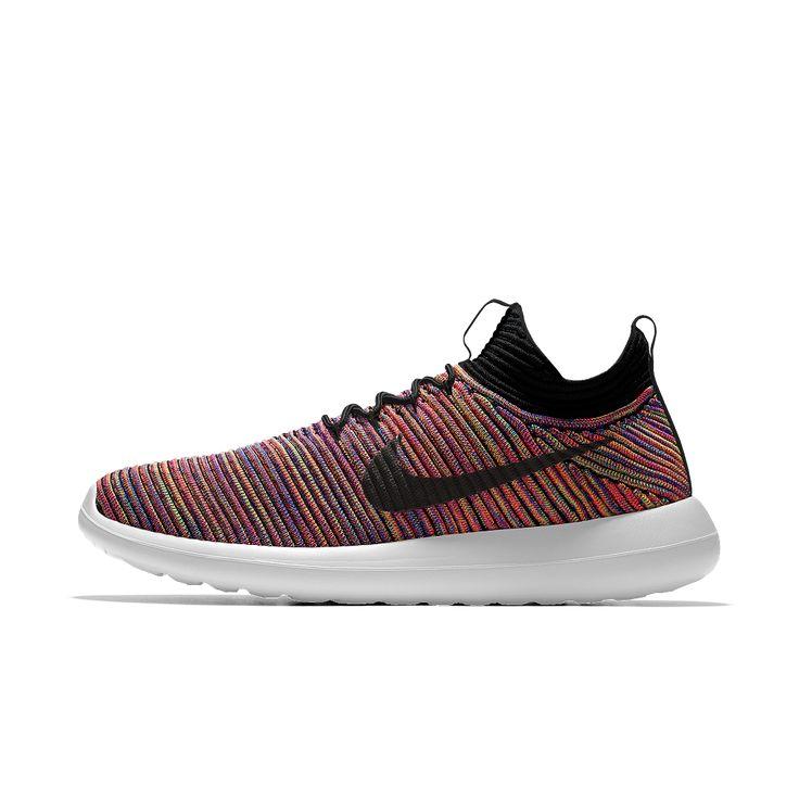 Nike Roshe Two Flyknit iD Men's Shoe Size 12.5 (Red)